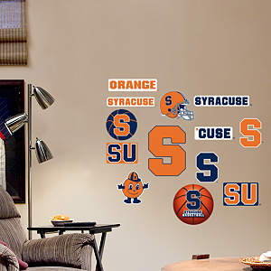 Syracuse Orange - Team Logo Assortment Fathead Wall Decal